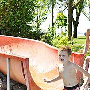 © NTG Steve Haider - Bedespass mit Rutsche am Neusiedler See