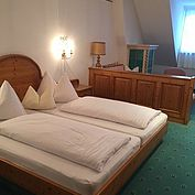 Komfortzimmer im Landhotel Forsthof