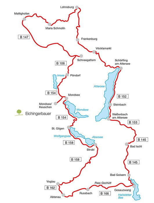 Die Hausruck-Tour, eine der schönsten Motorradrouten in Oberösterreich