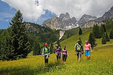 gemeinsame Bergwanderung © TVB Filzmoos