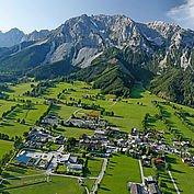 Flugaufnahme Ramsau © Photo Austria