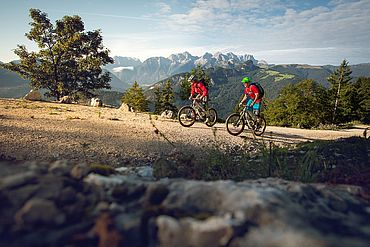 © Salzburger Saalachtal - Mountainbiken in der Natur