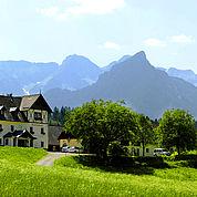 Landhotel Gressenbauer - Hotelansicht Sommer