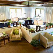 Lobby im Landhotel Schütterbad