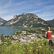© Ferienregion Traunsee - Blick Richtung Traunsee vom Ostufer