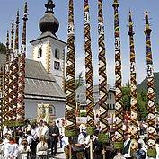 Prangstangen Zederhaus - Foto: Ferienregion Lungau