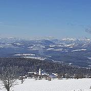 © Landhotel Schwaiger - Landschaftsaufnahme St. Kathrein im Winter