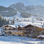 Landhotel Gasthaus Traunstein heute - Winteransicht