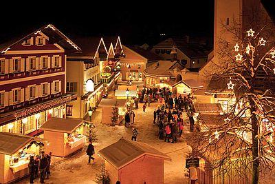 Adventmärkte in Österreich - wie hier in Abtenau
