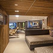 Relaxbereich im neuen See Spa des Landhotel Das Traunsee