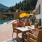 Landhotel Alpenhof - Terrasse