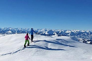 Schneeschuhwanderung am Hochplateau der Steinplatte Waidring, © Lackner Helmut / TVB PillerseeTal