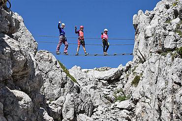 Klettersteig Little Bear, (c) Outdoor Leadership