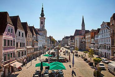 Steyrer Stadtplatz, (c) www.iconic-turn.com