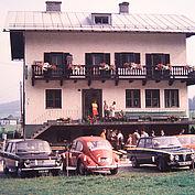 das heutige Landhotel Gasthof Traunstein, die einstige Jausenstation