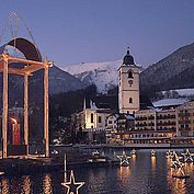 Der Wolfgangsee im Advent