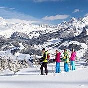 Winterpanorama2 bei der Schneeschuhwanderung © CoenWeesjes/TVB Filzmoos