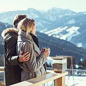 Landhotel Edelweiss - Romatisches Panorama von der Terasse in die Wagrainer Bergwelt