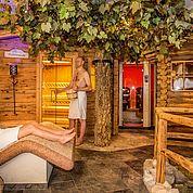"""© Fotodesign David - """"Rund um die Welt"""" in unserem Saunabereich"""