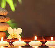 entspannte Stimmung bei der Massage