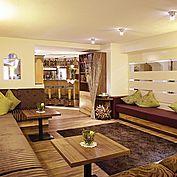 Loungebereich im Landhotel Schütterbad
