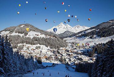 Ballonstart in Filzmoos © TVB Filzmoos