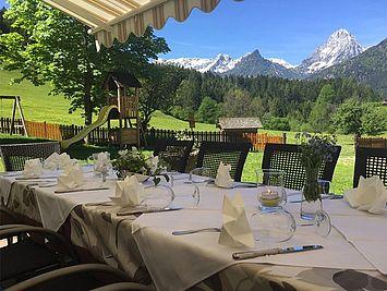 Landhotel Gressenbauer Gastgarten