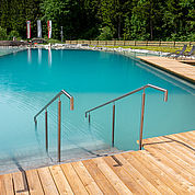 © Landhotel Alpenhof - Erholung am Naturschwimmteich