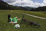 Bikerrast in traumhafter Bergkulisse
