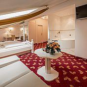 Kuschel Suite Mansarde im Landhotel Eichingerbauer