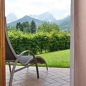 © Landhotel Gressenbauer - vom Zimmer direkt in den Garten