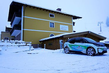 E-Ladestation im Landhotel Traunstein