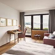 Minisuite im Landhotel Das Traunsee - copyrights www.traunseehotels.at