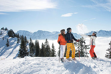 Skifahren am Kasberg, © STMG Fotograf: Wolfgang Stadler
