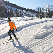 Cross-country skiing in Austria