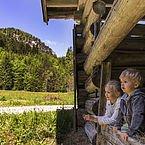 Ausblick aus der Jägerhütte