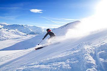 Skifahren in der Winkkogel Arena, © Wildkogel-Arena Neukirchen & Bramberg