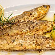 fangfrischer Fisch im Restaurant im Landhotel Post