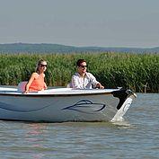 Bootfahren am Neusiedler See NTG/steve.haider.com