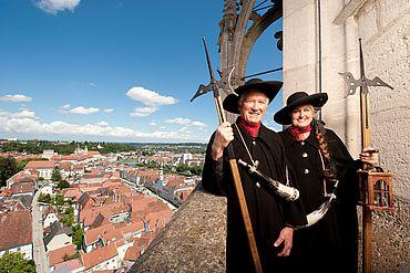 Nachtwächter auf dem Turm © Ralf Hochhauser