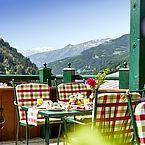 Terrasse mit Aussicht ins Gasteinertal