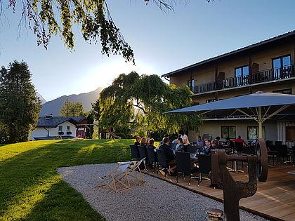 Landhotel Stockerwirt - neue Terrasse