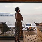 Panoramasauna Seehotel Das Traunsee****S