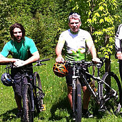 © Landhotel Schuetterbad - Ihre Gastgeber - Bikeprofis