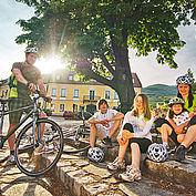 Familienurlaub Radfahren