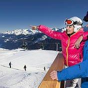 Tourismusbüro Bramberg - Mit der Smaragdbahn erreichen Sie von Bramberg aus die Skiarena Wildkogel