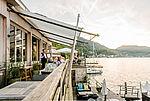 Terrasse des Restaurant Bootshaus