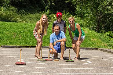 Asphaltbahn Landhotel Alpenhof