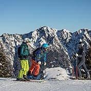Ausblick in die Wildschönau - Ski Juwel Alpbachtal