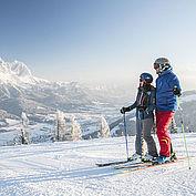 Skifahren in der SkiWelt Wilder Kaiser-Brixental, © rol.art images